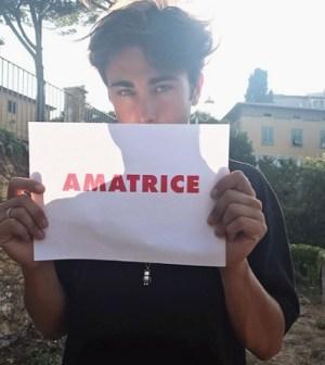 Foto Riccardo Marcuzzo a Amatrice