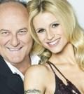 Foto Gerry Scotti e Michelle Hunziker insieme tv