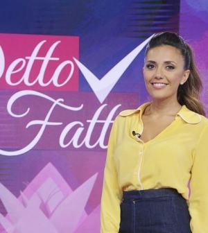 Foto Serena Rossi a Detto Fatto