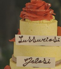 Foto torta purgatorio Bake off Italia