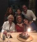 foto Antonella Clerici a un compleanno