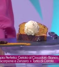 foto gelato al cioccolato bianco