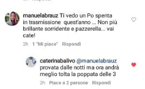 Foto Caterina Balivo su Instagram