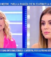 Foto Giulia Latini a Domenica Live