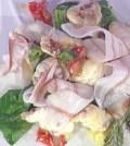 Foto pescatrice con lardo La prova del cuoco