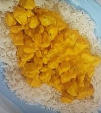 Foto pollo al curry con riso Domenica In