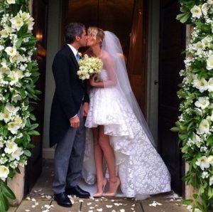 Foto Alessia Marcuzzi sposa