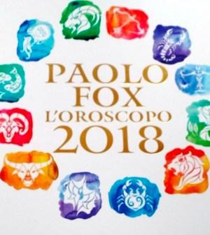 foto oroscopo 2018 libro Paolo Fox