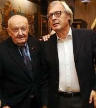 foto Vittorio sgarbi giuseppe sgarbi
