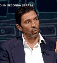Foto di Gigi Buffon ospite a L'Intervista nella puntata di giovedì 15 febbraio 2018