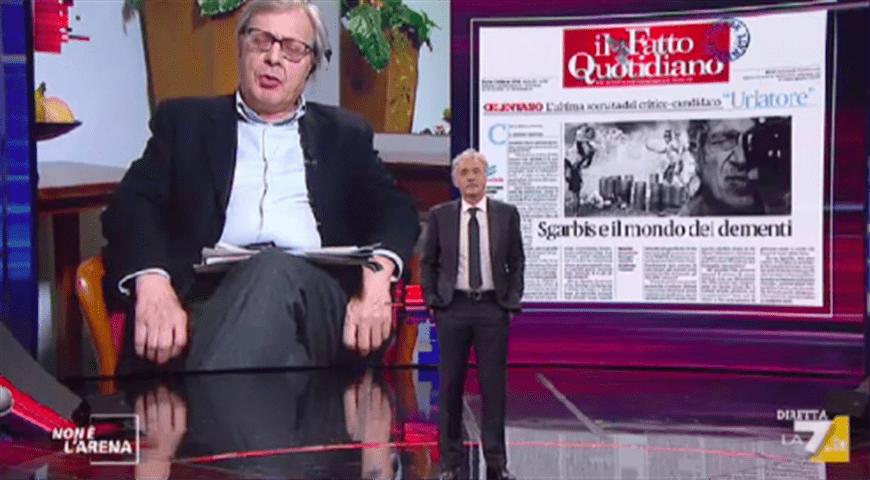 Giletti, il ritorno dopo il malore: Salvini a