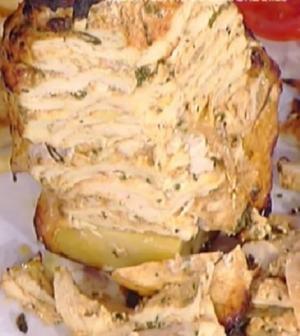 Foto kebab di pollo La prova del cuoco