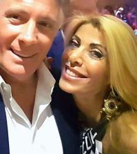 foto Giorgio Manetti con Anna Tedesco