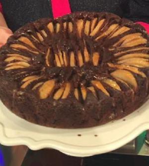 Foto torta pere e cioccolato La prova del cuoco
