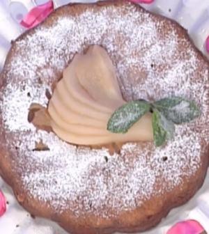 foto torta pere e zenzero