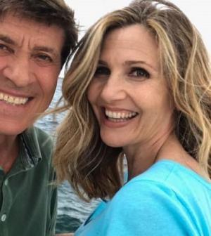 Foto Lorella Cuccarini e Gianni Morandi L'isola di Pietro
