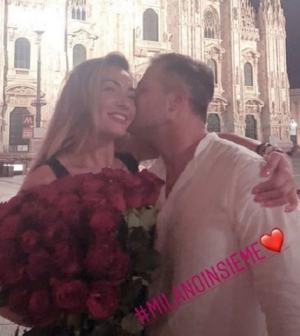 foto Ida e Riccardo a Milano