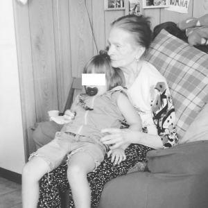 foto Laura Chiatti con la nonna