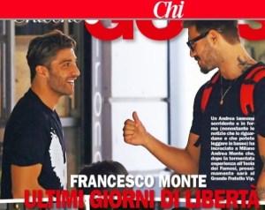 Francesco Monte incontra Iannone e Giulia Salemi prima del G