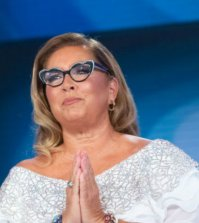 foto Romina power domenica in mara venier