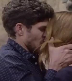 foto elia e jane bacio