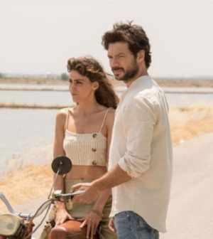 foto Veronica e Oscar Il molo rosso