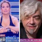 "Barbara d'Urso sgrida Morgan a Live: ""Hai detto una cosa antipatica"""