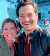 Foto Meredith e DeLuca