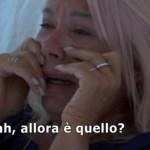 """Anna Pettinelli in lacrime per Stefano Macchi: """"È un cog…"""""""