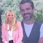 Luca Argentero a Storie Italiane fa una promessa a Eleonora Daniele
