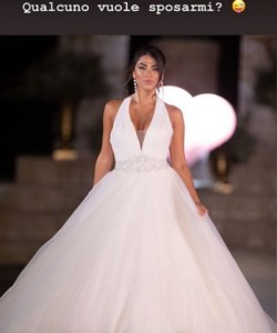 foto Giulia Salemi sposa