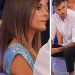 """Uomini e Donne oggi, Ilaria Teolis a Massimo: """"Mi hai trattato male"""""""