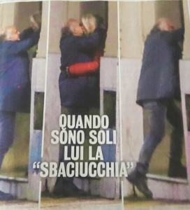 Mara Venier bacia un suo ex! (FOTO). Nicola Carraro assente