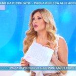 """Paola Caruso a Moreno Merlo dopo Domenica Live: """"Vergognati, che schifo!"""""""