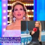 """Taylor Mega si ritira dalla Tv. Barbara D'Urso: """"Non ti voglio più se…"""""""