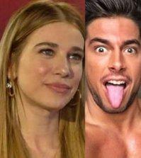 foto Clizia Incorvaia Andrea Denver bacio video grande fratello vip