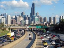 Trafico en Chicago