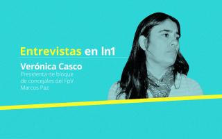 Verónica Casco dialogó con lanoticia1.com.