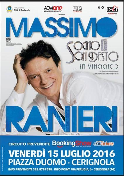 Locandina Massimo Ranieri