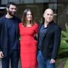 Kasia Smutniak,Ferzan Ozpetek e Francesco Arca - Allacciate le cinture - Foto di Luca Carlino