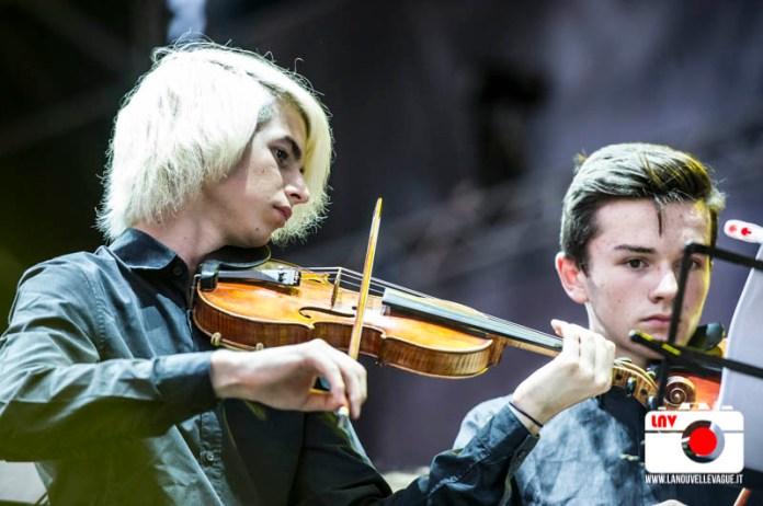 Manos Blancas - opening act Mika a Trieste - Foto di Fabrizio Caperchi