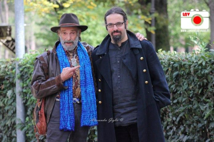 Marc Fiorini e Louis Nero - The Broken Key Photocall In Rome © Alessandro Giglio