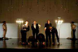 "Probe von ""This is theatre how it was to be expected"" von Jan Fabre"