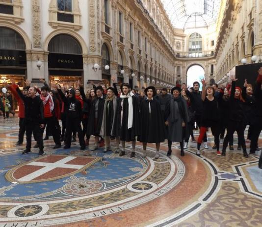 Flash Mob di Spring Awakening a Milano