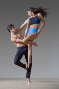 Elena d'Amario e Ian Spring della Parsons Dance Company