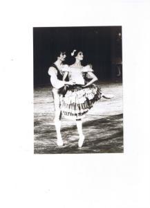 Lia Musarra con Rudolf Nureyev nel balletto Don Chisciotte