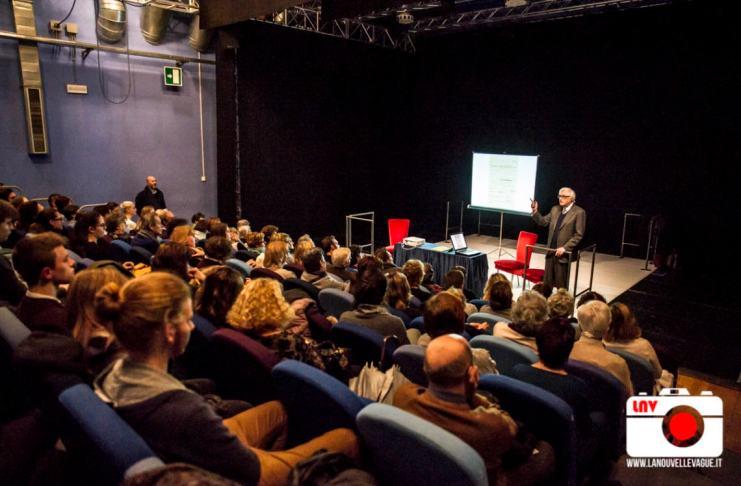 Peter Brown presenta Vincent Van Gogh al Politeama Rossetti - Foto di Fabrizio Caperchi