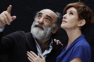 Alessandro Haber e Lucrezia Lante della Rovere in Il Padre