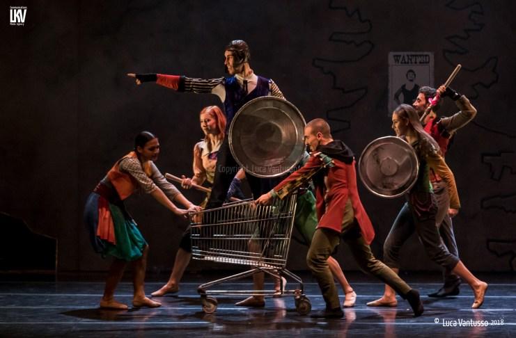 Lo Schiaccianoci del Balletto di Roma firmato Massimiliano Volpini - Le foto di Luca Vantusso