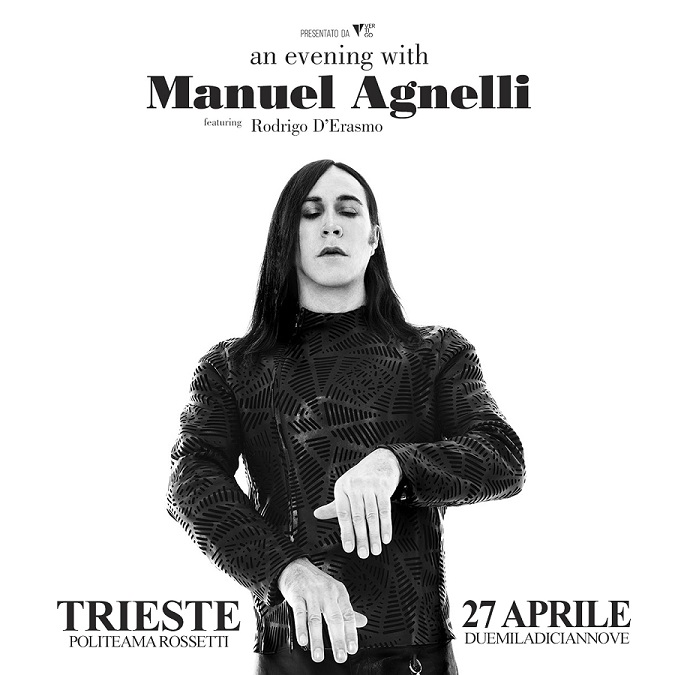 "Manuel Agnelli- Tour ""An Evening with"""